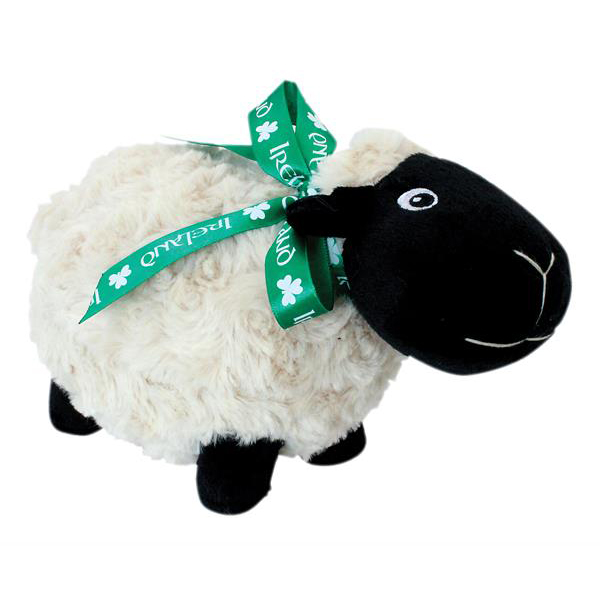Soft Toy Black Sheep With Ribbon Dublin Gift Co