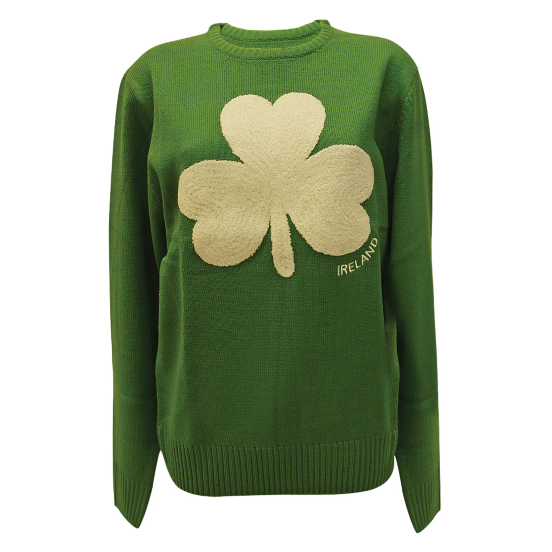 Adult Green Ireland Sweater Dublin Gift Co