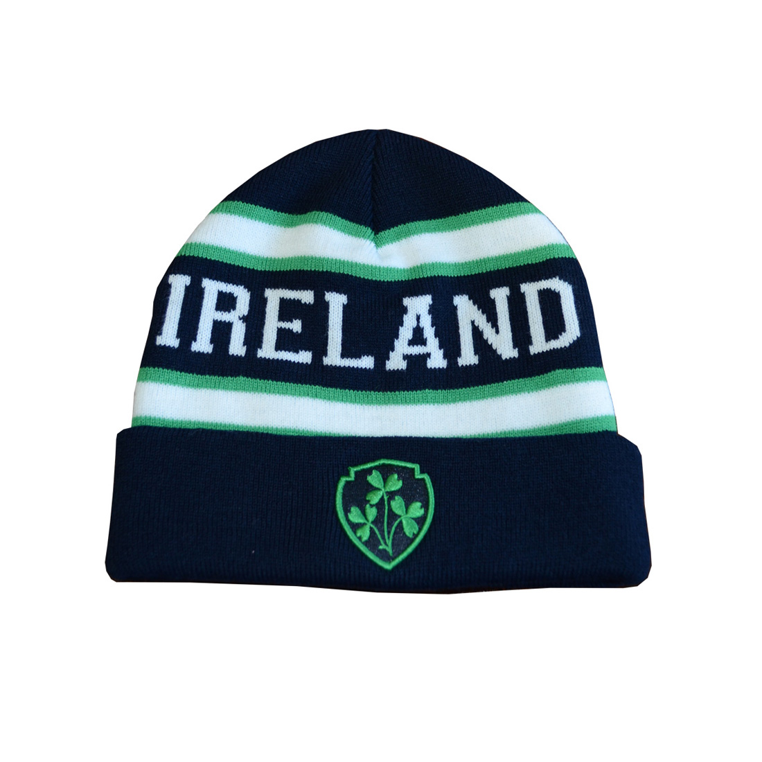 Navy Green Ireland Knitted Kids Hat  54d62881ad5e