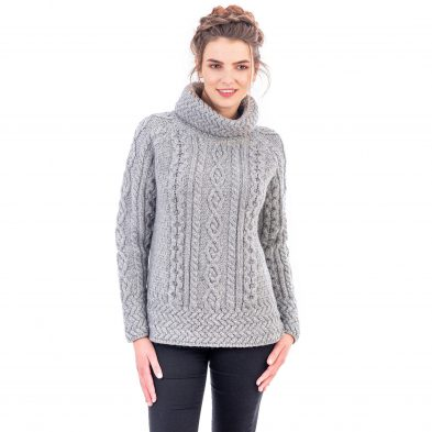 Roll Neck Sweater for Ladies on DublinGiftCompany.com